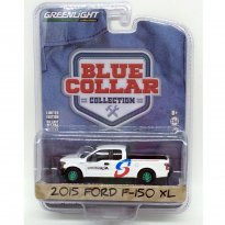 Imagem - Ford: F-150 XL (2015) - Blue Collar Collection - 1:64 - (Green Machine) - Greenlight