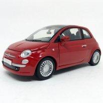 Imagem - Fiat: Nuova 500 - Vermelho - 1:24 - Motor Max