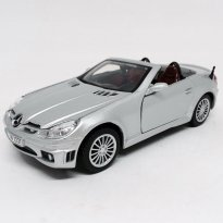 Imagem - Mercedes Benz: SLK55 AMG - Prata - 1:24 - Motor Max