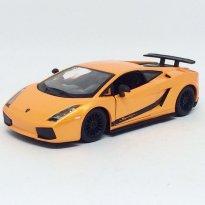 Imagem - Lamborghini: Gallardo Superleggera - Laranja - 1:24 - Burago
