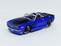 Imagem - Chevrolet: Camaro SS 396 (1968) - Convertible - Azul - AllStars - 1:24