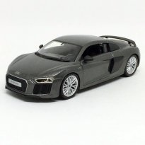Imagem - Audi: R8 V10 Plus - Grafite - 1:24 - Maisto