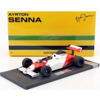 Imagem - McLaren: Ford MP4/1C - Test Silverstone (1983) - #7 Ayrton Senna - 1:18 - Minichamps