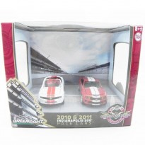 Imagem - Diorama: Chevrolet Camaro SS - 2010 & 2011 Indianapolis 500 Pace Cars - 1:64 - Greenlight