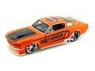 Ford: Mustang GT - Harley Davidson - 1967 - Laranja - 1:24