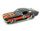 Ford: Mustang GT - Harley Davidson - 1967 - Preto - 1:24