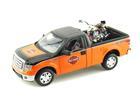 Ford: F150 STX - 1:27 c/ Moto FLH Duo Glide (1958) - 1:24