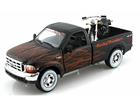 Imagem - Ford: F-350 Pickup '99 - 1:24 c/ Moto HD FXSTB Night T. 02 1:24 - Maisto