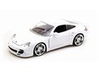 Porsche: 911 Turbo - Branco - 1:24