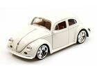 Volkswagen: Fusca / Beetle (1959) - Branco - 1:24