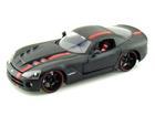 Dodge: Viper SRT10 (2008) - Preto - 1:24
