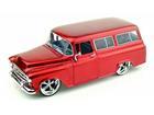 Imagem - Chevrolet: Suburban (1957) - Vermelho - 1:24 - Jada