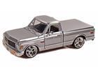 Chevrolet: Cheyenne (1972) - Prata - 1:24