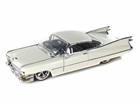 Cadillac: Coupe De Ville (1959) - Branco - 1:24