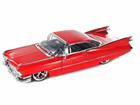 Cadillac: Coupe De Ville (1959) - Vermelho - 1:24