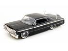 Chevrolet: Impala (1964) - Preto - 1:24