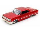 Chevrolet: Impala (1963) - Vermelho -  1:24