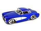 Chevrolet: Corvette (1957) - Azul - 1:24