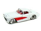 Chevrolet: Corvette (1957) - Branco - 1:24