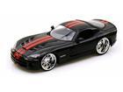 Dodge: Viper SRT10 (2008) - Preto - Bigtime Muscle - 1:24