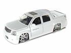 Cadillac: Escalade EXT (2002) - Branco - 1:24