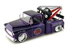 Chevrolet: Stepside Tow Truck (1955) - Roxa - 1:24