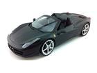 Ferrari: 458 Spider - Preto Fosco - 1:18