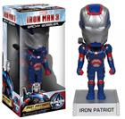 Imagem - Boneco Iron Patriot (Iron Man 3) - Funko - Bobble Head