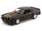 Ford: Mustang II King Cobra (1978) - Preto - 1:18