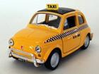 Imagem - Fiat: Nuova 500 Táxi - Amarelo - 1:39