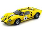 Ford: GT40 Mark II #8 (1966) - Amarelo - 1:18