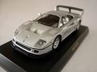 Ferrari: F40 GTE - Prata - 1:64