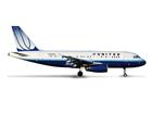 United Airlines: Airbus A319 - 1:500