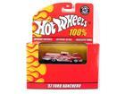 Ford: Ranchero (1957) - Laranja / Prata - 40th Anniversary - Hot Wheels 100% - 1:64