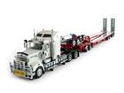 Imagem - Kenworth: T908 Prime Mover with Drake 2 x 8 Dolly and 4 x 8 Swingwing - Branco / Vermelho - 1:50