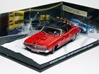 Diorama: Ford Mercury Cougar - James Bond - 007 On Her Majesty's Secret Service (007 - A Serviço Secreto de Sua Majestade) - Vermelho - 1:43