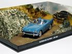Diorama: Sunbeam Alpine Conversível - James Bond - 007 Dr. No (007 - Contra o Satânico Dr. N) - Azul - 1:43