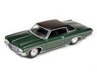 Chevrolet: Impala Custom Coupe (1970) - Verde - Luxury Cruisers - 1:64