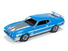Ford: Mustang Mach 1 (1971) - Azul - Top Gear BBC - 1:64