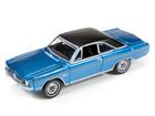 Dodge: Dart Swinger (1971) - Azul - Classic Car - 1:64