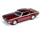 Ford: Mercury Cougar (1970) - Vermelho Metálico (UltraRed) - 1:64