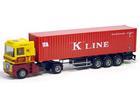 Renault: Magnum c/ 40 FT Container -