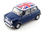 Mini Cooper: S MK-1 - 1275S - Flag The Union Jack - (1959) - Azul - 1:18