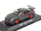 Porsche: 911 GT3 RS (2010) - Cinza Escuro - 1:43
