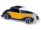 Mercedes Benz: 170S Cabrio - Amarelo/ Preto - HO - Busch