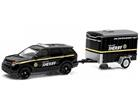 Imagem - Ford: Interceptor Utility c/ Trailer (2014) - 1:64 - Greenlight