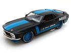 Imagem - Ford: Mustang Boss 302 (1970) - Preto / Azul - AllStars - 1:24 - Maisto