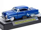 Ford: Crestline Victoria (1953) - Azul - Auto Thentics - 1:64 - M2 Machines