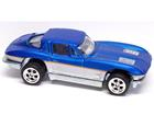 Imagem - Chevrolet: Corvette (1963) - Larrys Garage - Azul - 1:64 - Hot Wheels