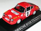 Porsche: 911S - #6 Rallye de Montecarlo (1970) - 1:43 - Del Prado